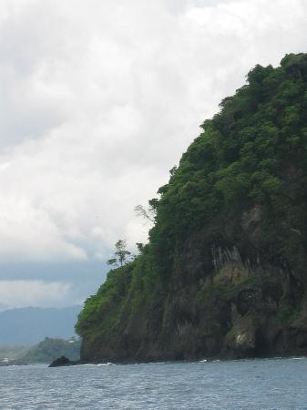 San Jose, Costa Rica: View of Manuel Antonio Beach resort area