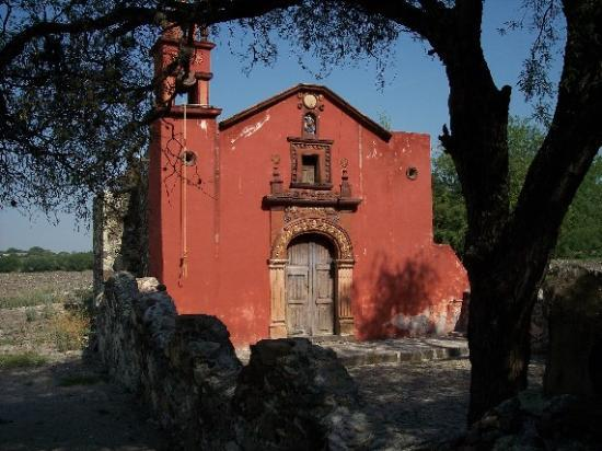San Miguel de Allende, Meksika: First church of San Miguel