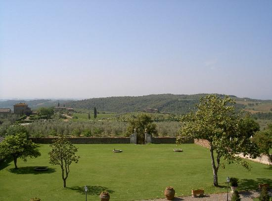 Relais Villa Arceno: View from room
