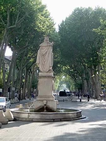 Aix-en-Provence, Frankrig: Hello statue?
