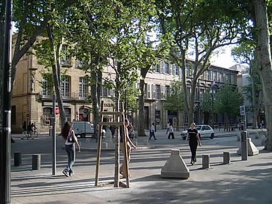 Aix-en-Provence, Frankrig: Main drag