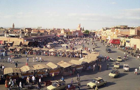 Grand Hotel Tazi: Jemaa in the day