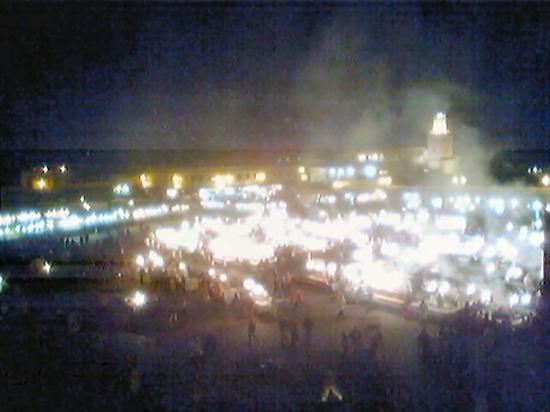 Grand Hotel Tazi: Jemaa at night