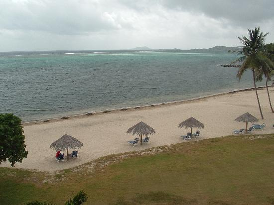 Club St. Croix Beach and Tennis Resort: View from balcony