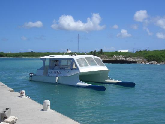 Jumby Bay, A Rosewood Resort: The boat transfer