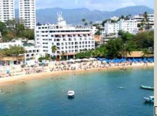 Hotel Acamar Acapulco View Of From The Island