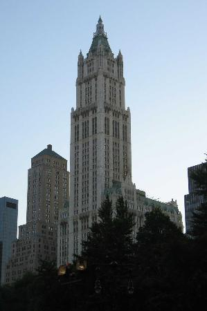 Cosmopolitan Hotel - Tribeca: Woolworth Building from 716