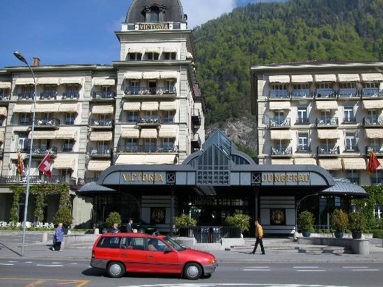 Victoria Jungfrau Grand Hotel & Spa: The Victoria-Jungfrau Hotel