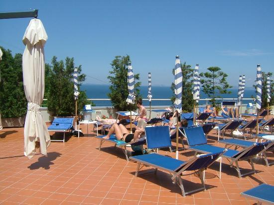 BEST WESTERN Hotel La Solara: View Whilst Sunbathing
