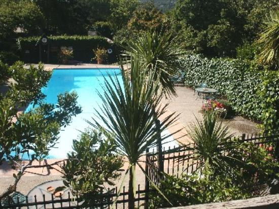 Carmel Valley Lodge : The pool area