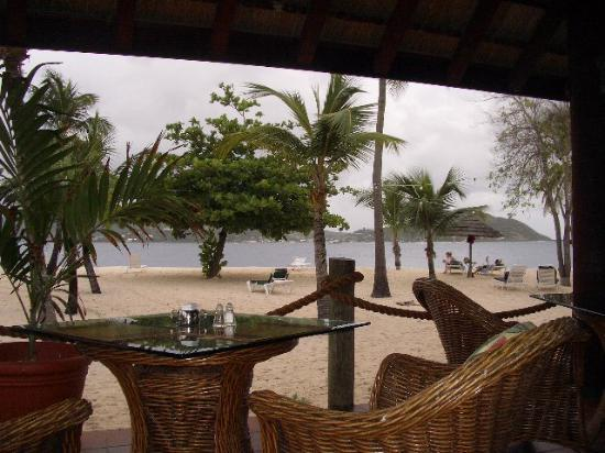 Palm Island Resort & Spa : view from the Royal Palm restaurant