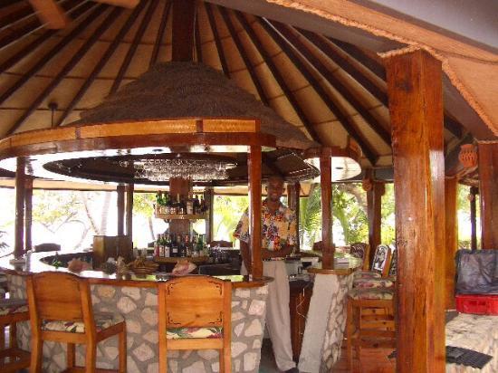 Palm Island Resort & Spa : Vince at the bar