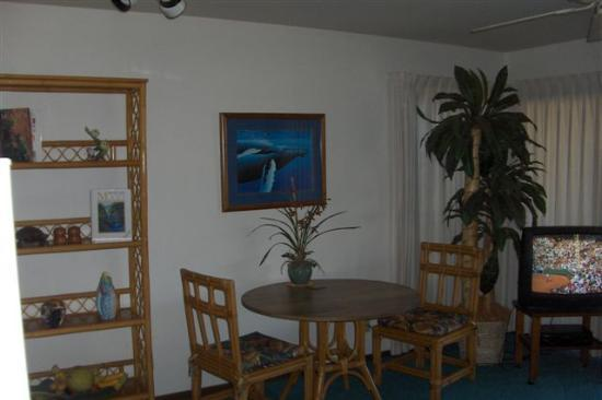 Blue Horizons Bed and Breakfast : Living room