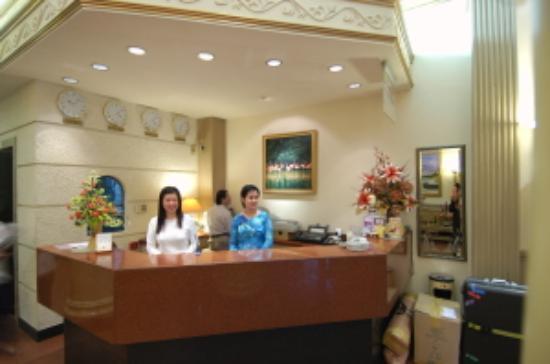 Spring Hotel: Pleasant Reception