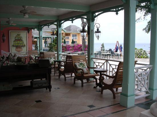 Sandals Royal Plantation: Tea Room/Resaurant/Relaxing area