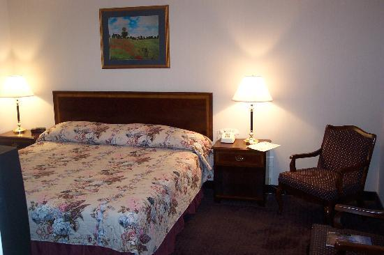 Comfort Inn Mount Shasta Area: Bedroom
