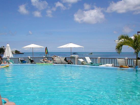 Blue Waters Antigua : Main Pool and Sun Deck