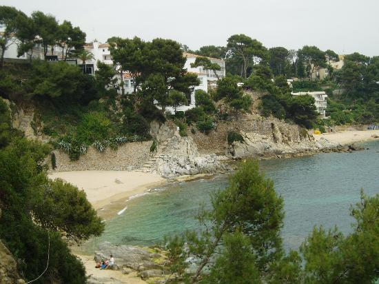 Platja d'Aro, Spain: Beach View