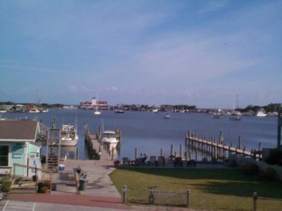 Ocracoke Harbor Inn: View from the Hotel Balcony