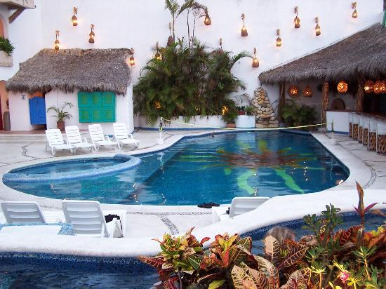 Relaxing By The Pool Picture Of Hotel Playa Fiesta