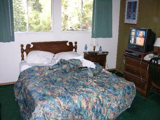 Stony Creek Lodge: The bed