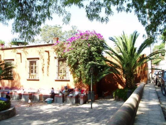 Rancho Hotel El Atascadero: San Miguel scene