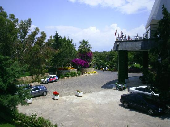 Club Calimera Kaya Side: veiw from our room