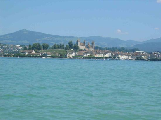 Sorell Hotel Speer: View to Rapperswil from the Lake