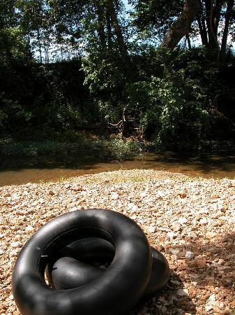 Fair Winds Cabins: Our inner tubes