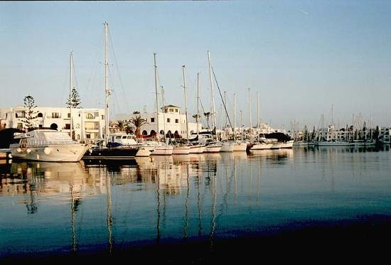 El Hana Hannibal Palace : El kantaoui marina adjacent to the Hannibal Palace Hotel,