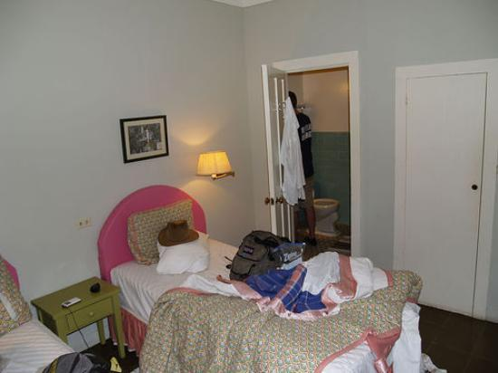 Hotel Panamonte: Our Extremely Messy Room...