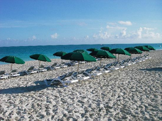 Royal West Indies Resort: You'll find beach chairs set up daily