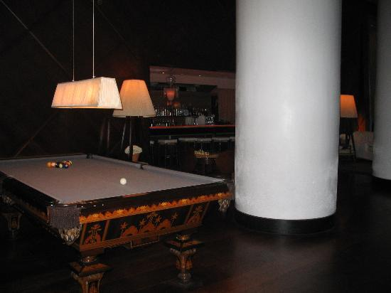 Exceptional Delano South Beach Hotel: Foyer Style 2   Pool Table And The Rose Bar