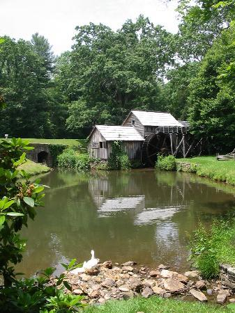 Fancy Gap, VA: Mabry Mill...just a few miles from The Volunteer Gap Inn