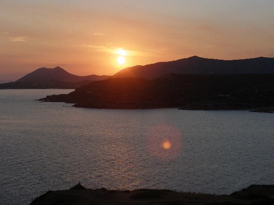 Cape Sounio, Grecotel Exclusive Resort : sunset from poseidon's temple