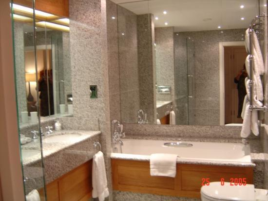 The Soho Hotel Bathroom With Much Granite And Many Mirrors