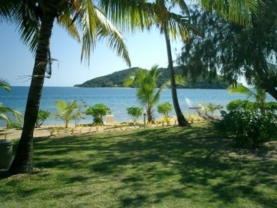 Malolo Island, Fiji: The view from our bure