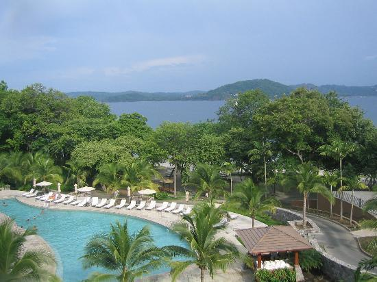 Four Seasons Resort Costa Rica at Peninsula Papagayo : Four Seasons Resort view from 4th floor