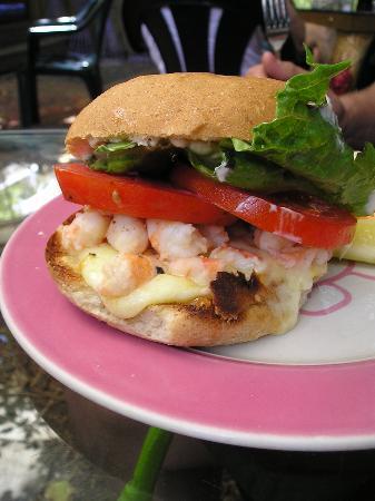 Blue Heaven: Key West Shrimp Sandwich