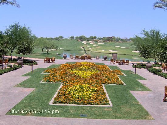 The Westin Kierland Resort & Spa: Beautiful garden greets you!