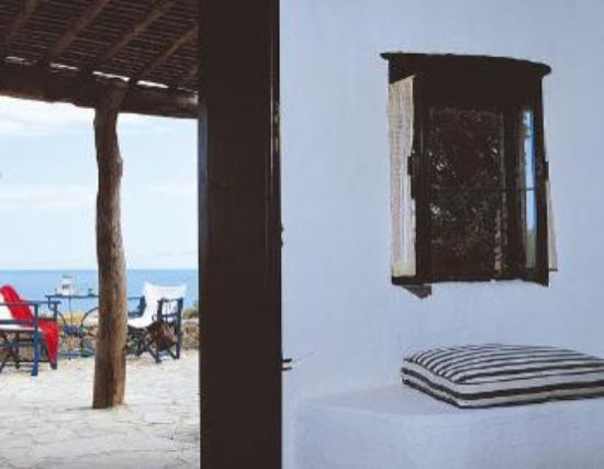 Koutsounari Traditional Cottages : veranda