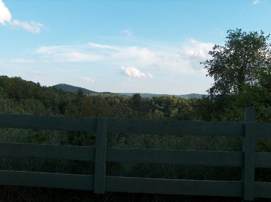 The Gathering Place On The Blue Ridge: View from property.