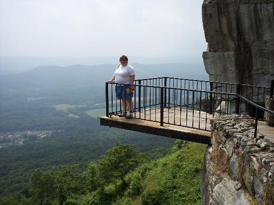 Lookout Mountain, GA: From one of the overlooks