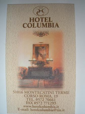 Hotel Columbia Wellness & SPA: Rating??