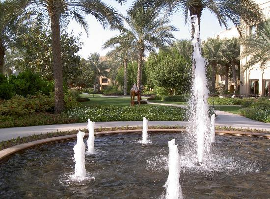 The Palace at One&Only Royal Mirage Dubai: Arabian Court gardens