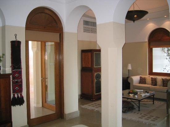 The Oberoi Sahl Hasheesh: Living room