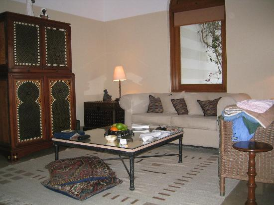 The Oberoi Sahl Hasheesh: Living room 2