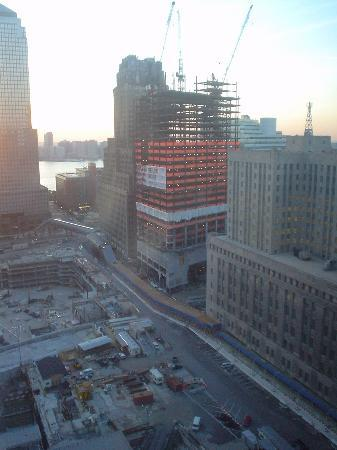Millennium Hilton New York Downtown: View of ground zero
