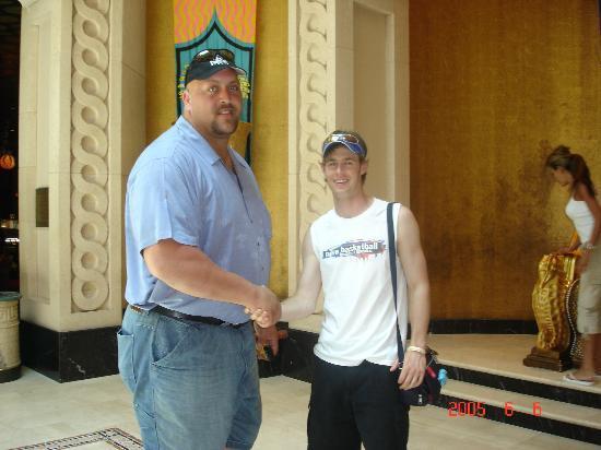 Hotel Riu Palace Paradise Island: Clark and the Big Show
