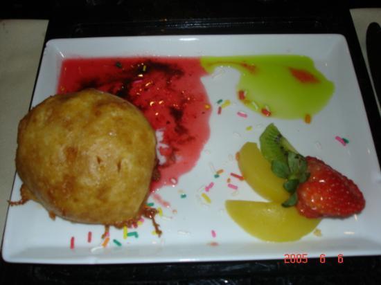 Hotel Riu Palace Paradise Island: Fried ice cream from the Japanese restuarant
